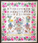 Reflets de Soie 図案 Héloïse Cornu 1896 - Version Originale